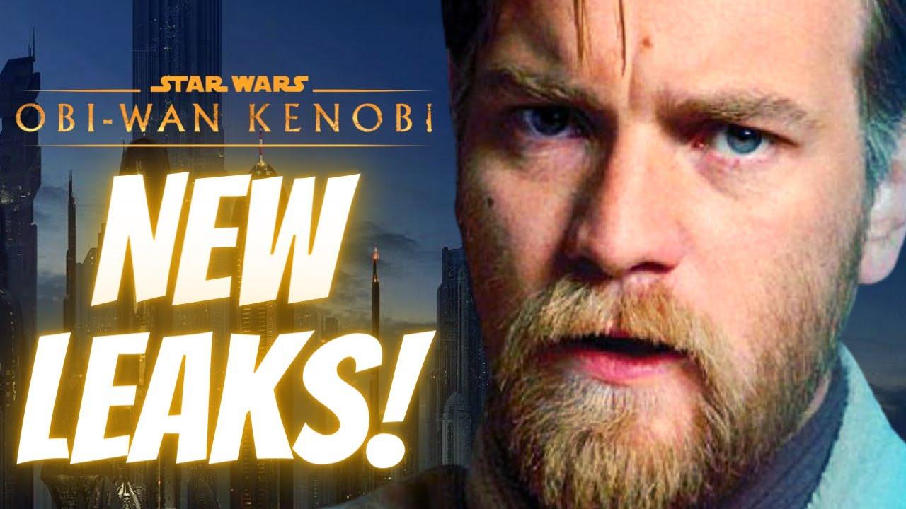 NEW Leaks For Obi-Wan Kenobi, Cad Bane in the Book of Boba Fett? & More Star Wars News!