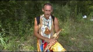 Spotted Eagle speaks about Chief Silverheels