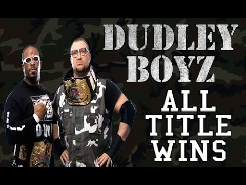 All of Dudley Boyz Championships Wins in WWE/WWF