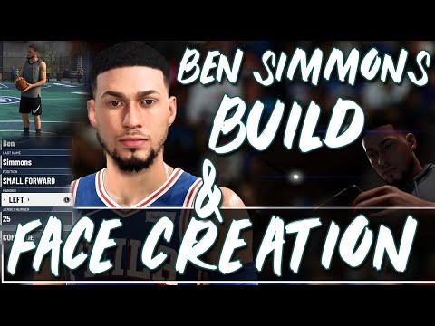 Ben Simmons BUILD and FACESCAN NBA 2K20 | Best Ben Simmons build