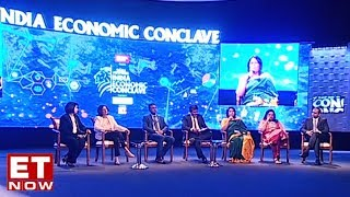 Times Network's Editor Panel at the Indian Economic Conclave