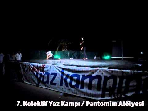 7. Kolektif Yaz Kampı Pantomim Atölyesi