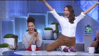 The Hosts Make A Dating Slideshow For Jeannie Mai!