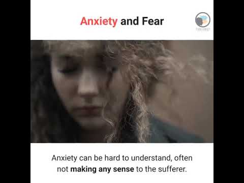 Anxiety and Fear - From the Hypnotist's Perspective