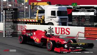 F1 2020 Thrustmaster TR Endurance League | Race 6 - Monaco Grand Prix