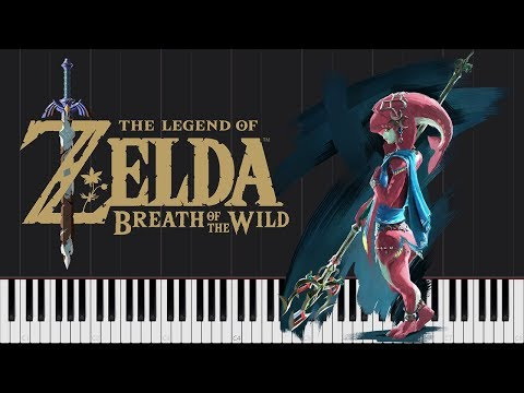 Mipha's Theme  The Legend of Zelda: Breath of the Wild [Piano Tutorial] // Touhou x Vocaloid