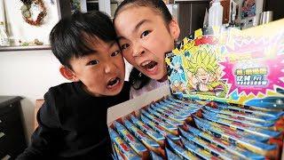 ドラゴンボールマンチョコ超ゲットでハイテンションRino&Yuuma