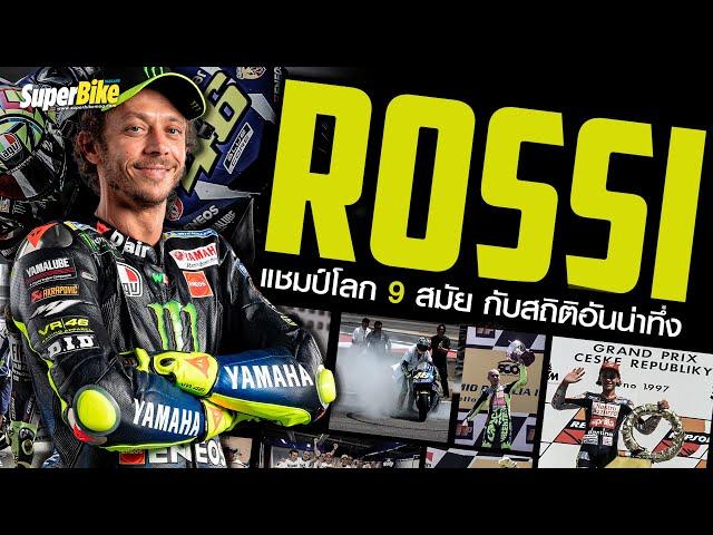 Valentino Rossi VR46 หรือพ่อหมอ กับสถิติที่ยากจะหาใครเทียบ I SuperBike Podcast