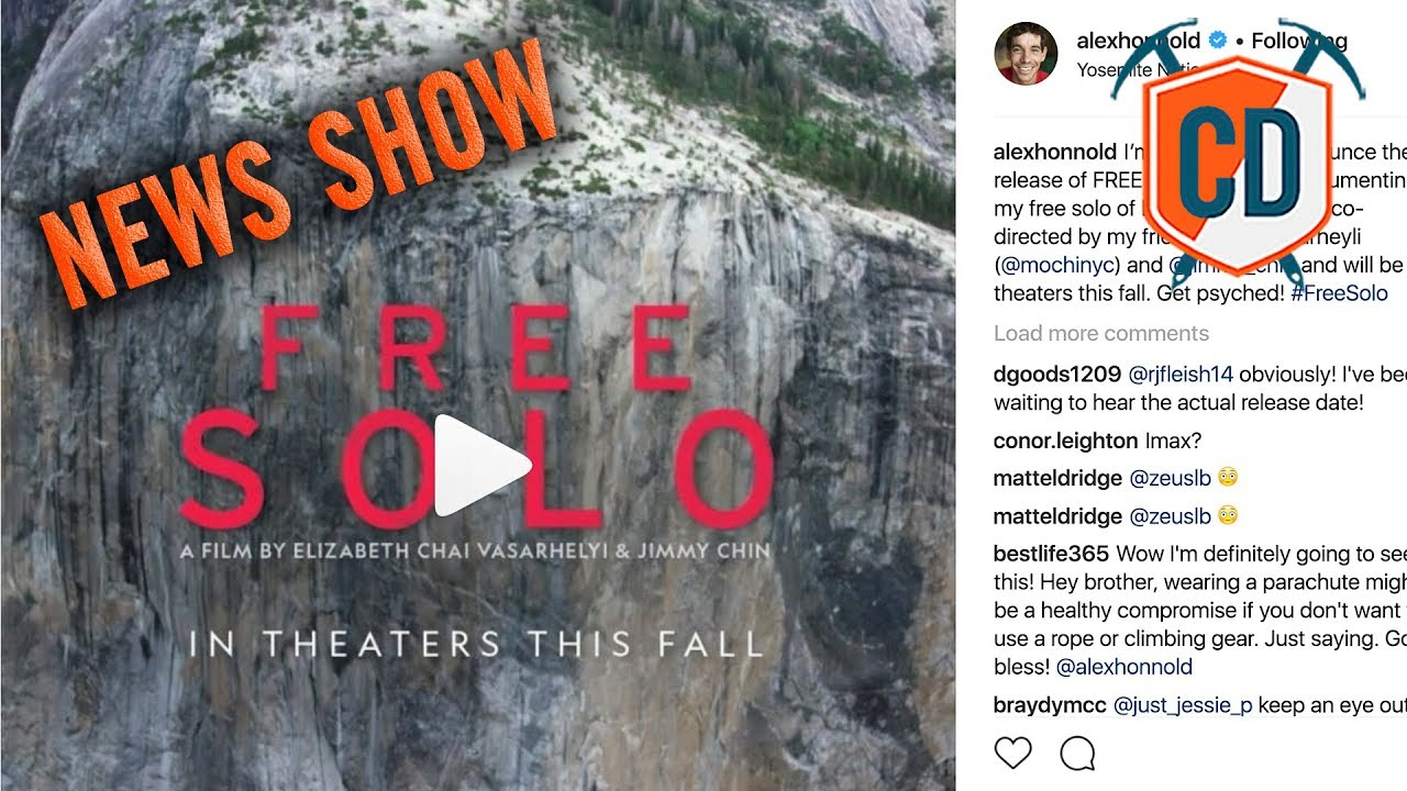 Is The New Alex Honnold Movie Too Dramatic Climbing Daily Ep 1231