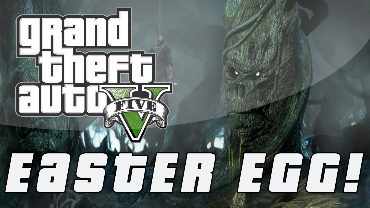 Grand Theft Auto 5  Tree With A Face Easter Egg Gta V -4109