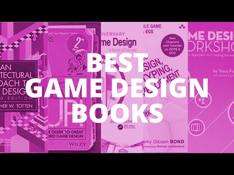 5 game design books that every aspiring game designer should read heading into 2021