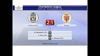 UEFA Champions League Halbfinale (Ergebnisse)
