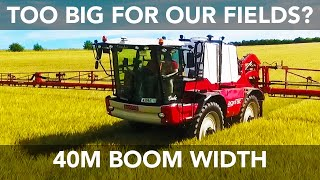 agrifac condor huge 40 metre sprayer