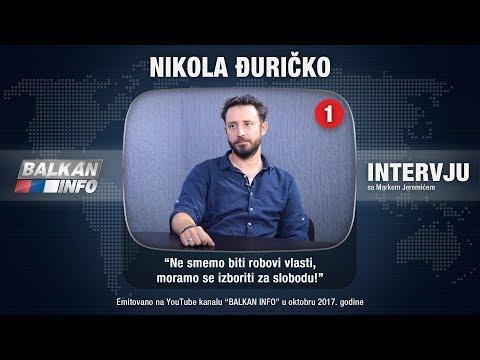 INTERVJU: Nikola Đuričko  Ne smemo biti robovi vlasti, moramo se izboriti za slobodu! 27.10.2017