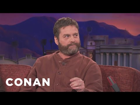 Zach Galifianakis' Most Humiliating Auditions   CONAN on TBS