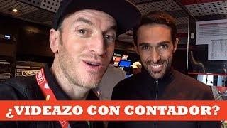 En La Vuelta con Alberto Contador | Ibon Zugasti
