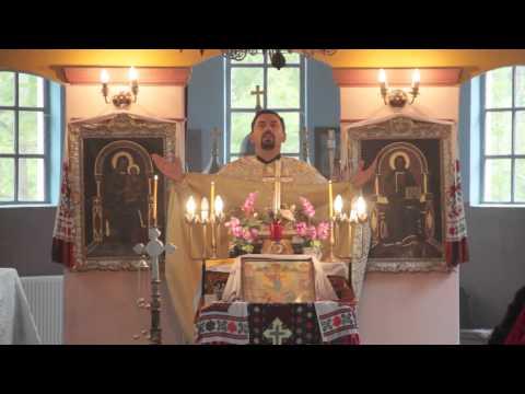 Transylvanian-shot Greek-Catholic Church Service