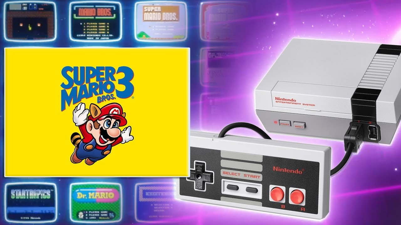Nintendo Classic Mini Nes Super Mario Bros 3 Gameplay Ita