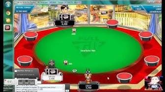 full tilt poker: final game table of 0.50.