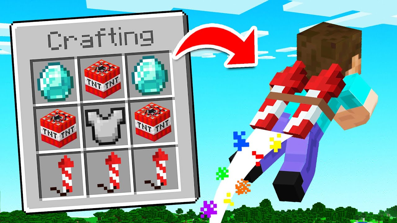 Minecraft But You Can COMBINE ANY ITEM...