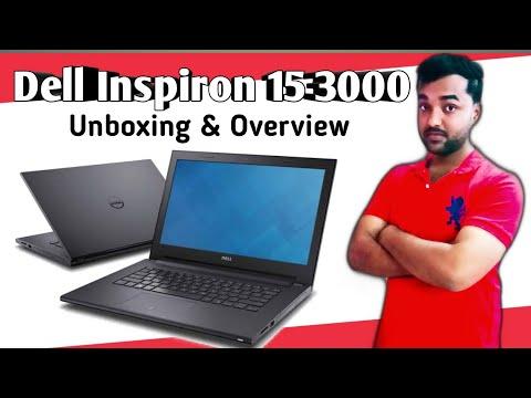 Dell Inspiron 15 3000 Series laptop Intel Core i3.