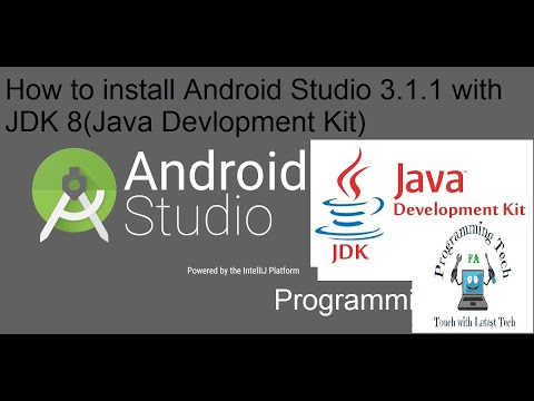 How To Install Android Studio SDK And (java Development Kit) Install JDK In Windows