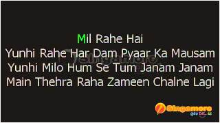 Suraj hua Madham karaoke by yasmienLove