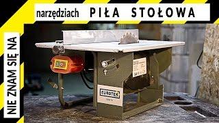 DO WYGRANIA Piła stołowa do drewna najpopularniejsza na Allegro Eurotek | przecinarka, krajzega