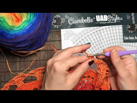 Tutorial Uncinetto Mandala 3a Parte By Uabstyle Youtube