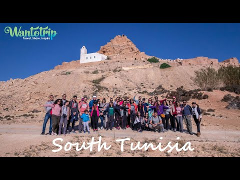 Wantotrip to the South of Tunisia with Mak and Cha?