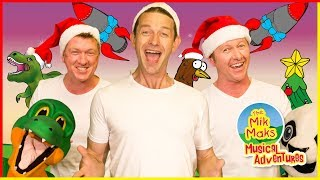 12 Days of Christmas | Christmas Songs for Kids | The Mik Maks Version | Learn to Count