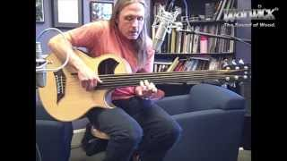 Steve Bailey on a Warwick Alien 6 String fretless