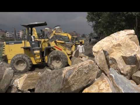 River Civilization and Physical Work at Bagmati River Bank Hamro Kathmandu