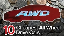 Top 10 Cheapest All-Wheel Drive Cars: The Short List | Most Affordable AWD Sedans and Wagons
