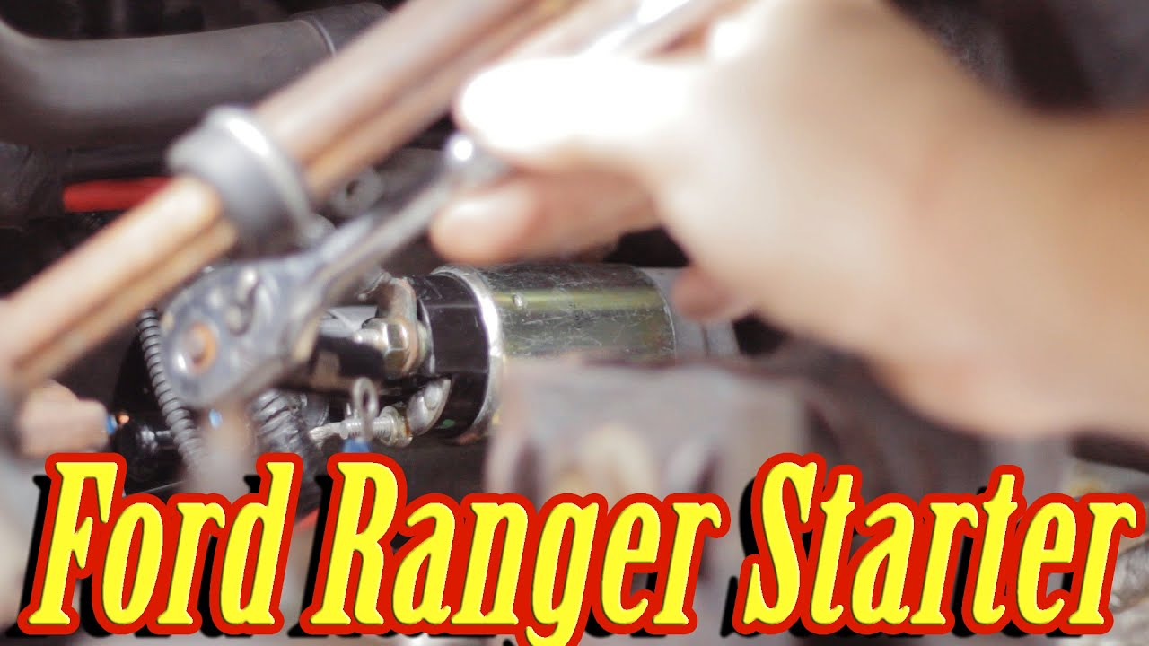 2007 Ford Ranger Wiring Diagram How Do You A Stem And Leaf To Replace The Starter In (manual 5 Speed) - Youtube