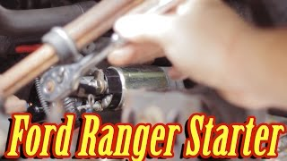 Як замінити стартер на Форд Рейнджер (механічна 5-ступінчаста) ✔