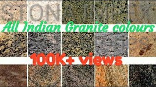 All Indian Granite colours
