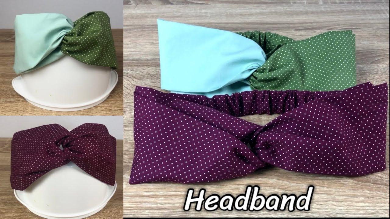 DIY Headband | คาดผมผ้า แบบง่ายๆ