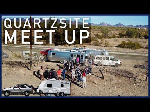 Less Junk, More Journey Meet Up, Quartzsite, Arizona