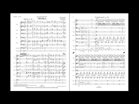 Troika (from Lieutenant Kijé) by Prokofiev/arr. Lavender