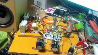 真空管再生式ラジオで中波DX(NHK東京第一放送594KHz)