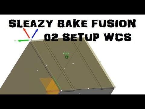 Speedy Fusion 360 Ep. 2 Setup WCS