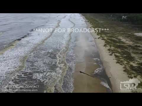 10-9-2018 Cape San Blas, FL - Waves and Rain Michael