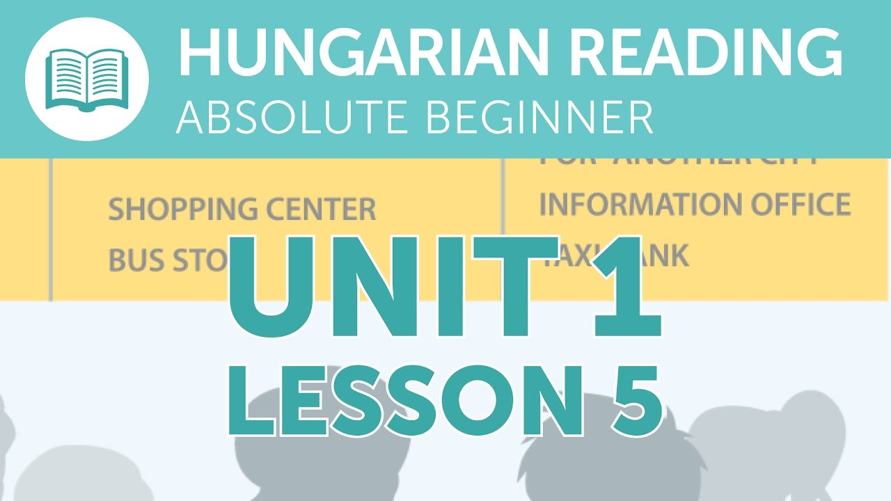 Hungarian Reading Practice for Absolute Beginners - Taking a Taxi from the Station