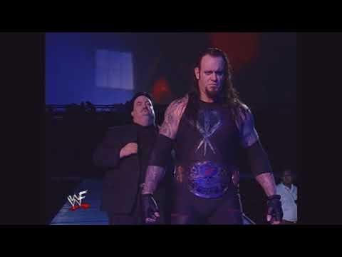 The Undertaker 1999 (Ministry Heel) Entrance