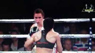 Cecilia Braekhus vs Ivana Habazin FULL FIGHT 13/09/2014 WBC WBA WBO IBF Welterweight Title