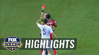 Penalty or not? Panama gets controversial red card  - 2015 CONCACAF Gold Cup Highlights