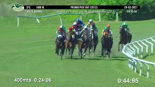 Vidéo de la course PMU PREMIO PICK OUT 2012 - 2O TURNO