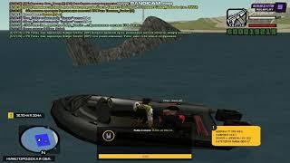 Рибалка в GTA CRMP Зловили 140кг риби