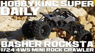 Basher Rocksta 1/24 4ws Mini Rock Crawler - Hobbyking Super Daily